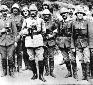 Ataturk Canakkale Savasinda